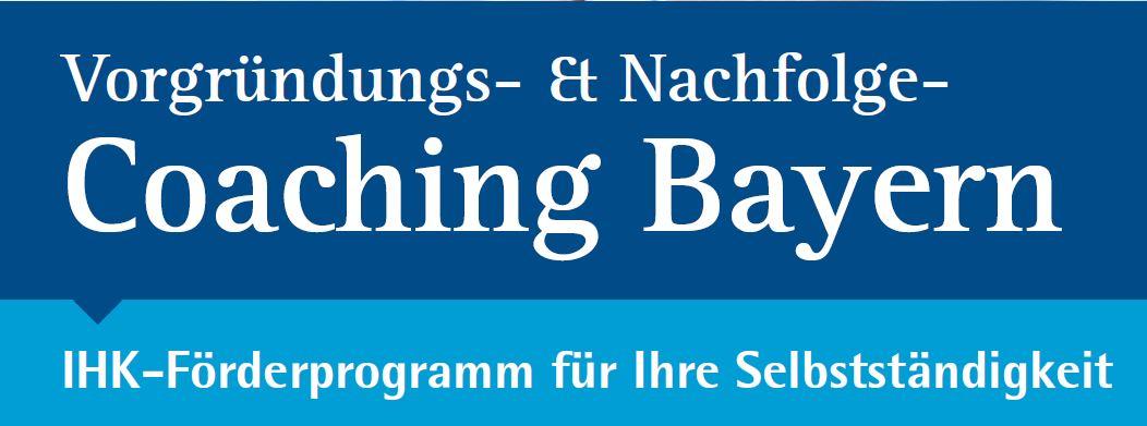 Vorgründercoaching Bayern Logo
